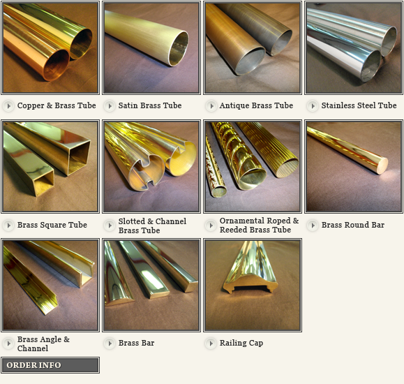 Brass Tubing | Copper Tubing Fittings | B & L Brassworks Inc