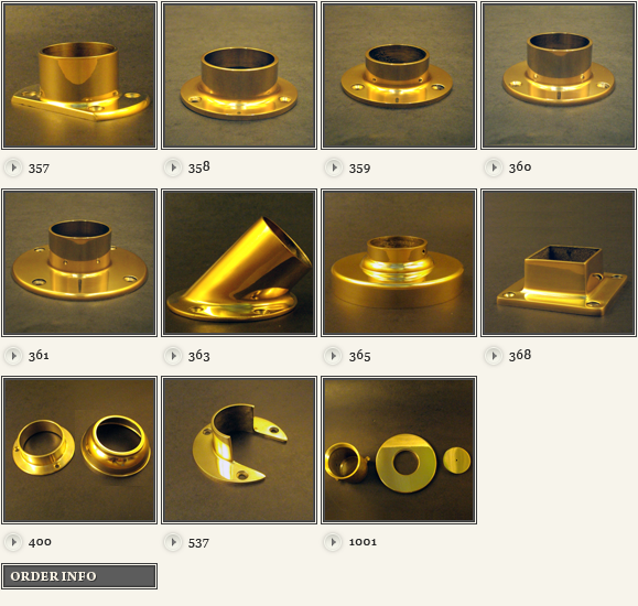 brass flanges images